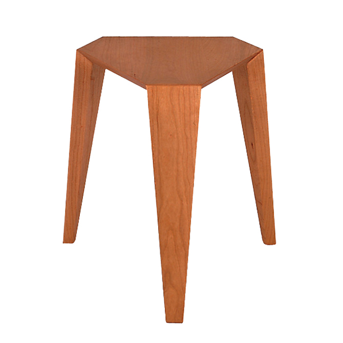 ORI stool-black cherry